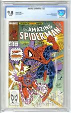 AMAZING SPIDER-MAN #327 1989 CBCS 9.8 NM/MT WHITE  NOT CGC ERIK LARSEN MAGNETO