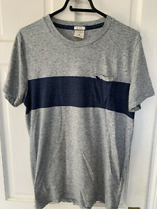 Abercrombie and Fitch Mens Muscle Fit Medium T Shirt - Grey