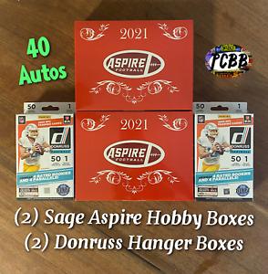 SEATTLE SEAHAWKS - 2021 Sage Aspire Hobby / Donruss Hanger Box Card Live Break