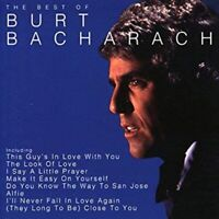 BURT BACHARACH - BEST OF CD ~ GREATEST HITS ~ 70's SOUNDTRACK HITS *NEW*