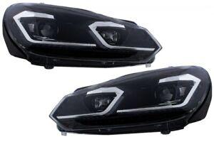 Fari a LED adatti per VW Golf 6 VI (2008-2013) mod. Facelift G7.5 Look