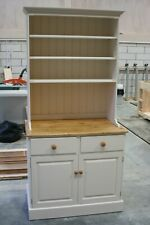 Small Kitchen Dresser top cupboards and shelves painted finish