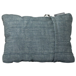 Thermarest Compressible Medium Adventure Gear Pillow - Bluewoven Dot One Size