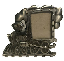 New ListingSmall Choo Choo Train Picture Photo Frame Gray Silver Tone 3.5�x4�