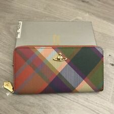Vivienne Westwood Harlequin Derby Femme Zip Around Purse Wallet