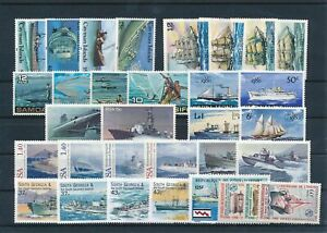 [G41981] Worldwide Boats Good lot Very Fine MNH stamps