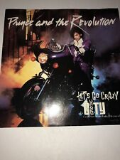 PRINCE Let'S Go Crazy WARNER BROTHERS 45 PICTURE SLEEVE ONLY