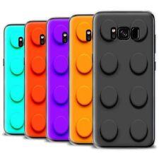 Étuis, housses et coques noirs Pour Samsung Galaxy S8 en silicone, caoutchouc, gel pour téléphone mobile et assistant personnel (PDA)