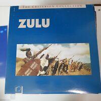 Laserdisc Zulu Stanley Baker Jack Hawkins Ulla Jacobsson Michael Caine Criterion