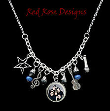 ~ONE DIRECTION THEMED STATEMENT CHARM NECKLACE~