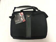"SwissGear Wenger Legacy Double Slimcase Laptop Bag/Briefcase Black 17"" Brand New"