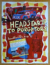 RICK FORK • FROBERG Drive Like Jehu Rocket From The Crypt Rare HEADHUNTER Poster