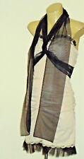 LUCIA BELLA Int.DesignerNudeStretchSatin Sz38rrp+US$500