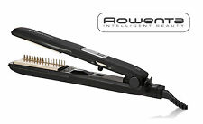 Rowenta SF7228 Straight Express 1-Inch Ceramic Tourmaline Ionic Flat Iron, Black
