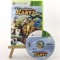 DreamWorks Super Star Kartz (Microsoft Xbox 360, 2011) No Manual Great Condition