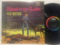 Tex Ritter Blood On The Saddle EX MONO MURDER COVER