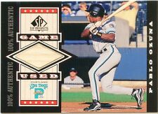 Pablo Ozuna 1999 SP Top Prospects Game Used Bat Card G-PO Florida Marlins