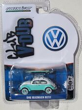 GREENLIGHT CLUB V-DUB SERIES 4 1946 VOLKSWAGEN BEETLE WITH SURF BOARD