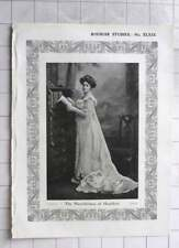 1904 Photo Study Of The Marchioness Of Headfort