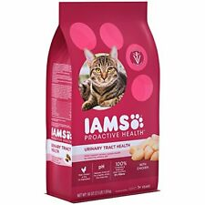 Iams Proactive Health Adult Urinary Tract Health Dry Cat Food With Chicken, 3.5