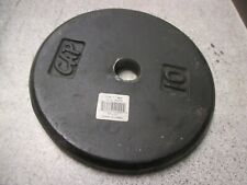 10LB Very Nice CAP Weight plate weight used pancake 1