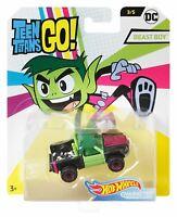 Hot Wheels DC Teen Titans Go! Character Cars Beast Boy Vehicle Toy