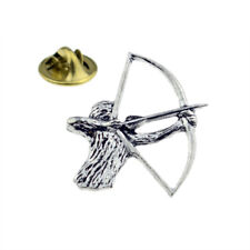Archery, Bowman, Archer Pewter Lapel Pin Badge XTSPBC23