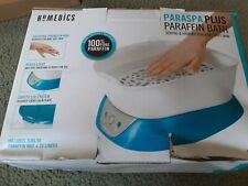 Nib Homedics ParaSpa Plus Paraffin Wax Bath Warmer Hand Foot Soothing Spa