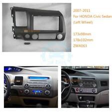 Car Interior DVD/GPS Navigation Panel Cover Trim For Honda Civic 2008-2011