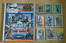 Rebel Attax Série 1 Classeur + Tous 186 Cartes Ensemble Complet Topps Star Wars