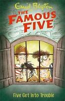 Five Get Into Trouble: Book 8 (Famous Five) by Blyton, Enid | Paperback Book | 9
