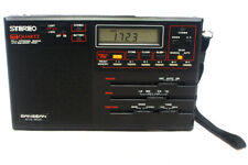 Sangean ATS-802 PLL Synthesized Receiver With 25 Memory Preset