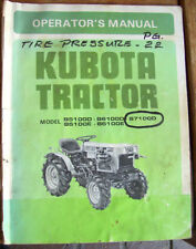 Heavy Equipment Manuals & Books for Kubota