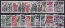 Architecture Decimal Postage European Stamps