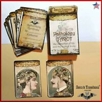 pathology tarot cards card deck guide book wicca oracle rare collectible vintage