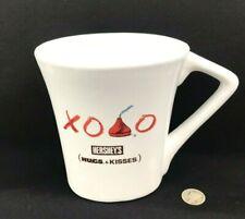 Collectible Hershey's Hugs And Kisses Oval Shape Coffee Cup/Mug White