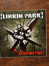 Linkin Park  promo sticker for the Reanimation  cd 2002
