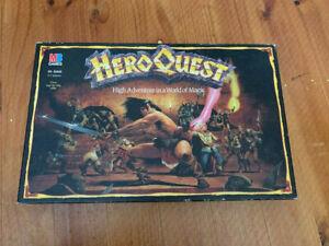 Hero Quest board game
