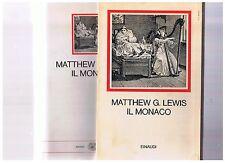 Matthew G. Lewis, IL MONACO, Einaudi I Millenni 1970