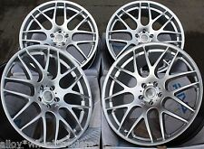 "18"" SILVER DTM ALLOY WHEELS FIT LEXUS ES GS IS LS RC RX MODELS MAZDA 5 6 MODELS"