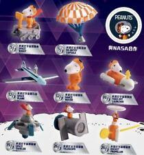 2019 Snoopy  PEANUTS NASA McDonalds Toys Complete Set Of 8