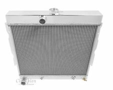 "1967-1969 4 Row 22"" Core Dodge Charger Champion Radiator with lifetime warranty"