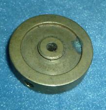 Vintage Brass Tether Car Flywheel