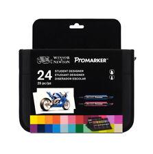 W&N Promarker Wallet Set Of 24