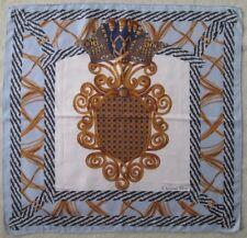 -Superbe foulard CHRISTIAN DIOR soie TBEG vintage scarf  85 x 88 cm