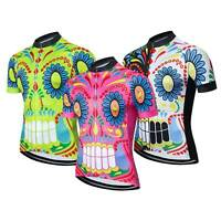 Men's Novelty Cycling Jersey Top Short Sleeve Cycle Biking Jersey Shirt S-5XL