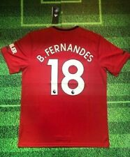 Bruno Fernandes - Manchester United 19/20 Home Jersey  (Same Day Shipping)
