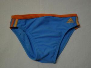 adidas Jungen Kinder Baby Badehose in blau orange  68, 74, 80, 86, 92, 98, 104