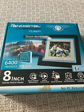 Digital Picture Frame Pandigital Pantouch 8-Inch Touchscreen LCD Digital Frame