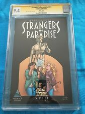 Strangers in Paradise v3 #18 - Abstract - CGC SS 9.4 NM - Signed by Terry Moore